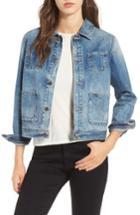 Women's Ag Andy Crop Denim Jacket