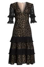 Women's Keepsake The Label Timeless Lace Midi Dress - Black