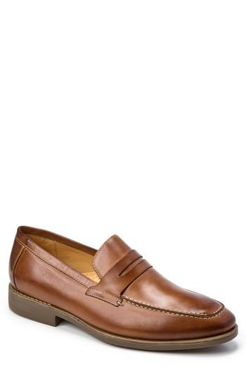 Men's Sandro Moscoloni Murray Penny Loafer .5 D - Brown