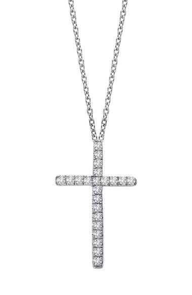 Women's Lafonn Cross Pendant Necklace