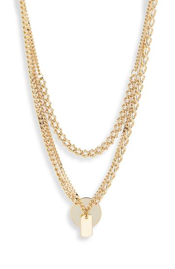 Women's 8 Other Reasons Charlie Layered Necklace