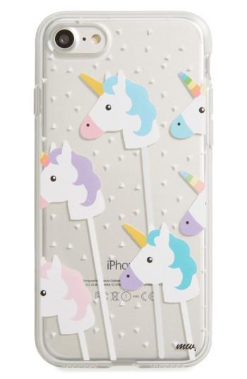Milkyway Unicorns Iphone 7 Case - White