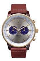 Men's Triwa Nevil Chronograph Leather Strap Watch, 38mm