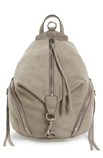 Rebecca Minkoff Medium Julian Backpack - Grey