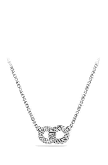 Women's David Yurman 'belmont' Necklace With Diamonds