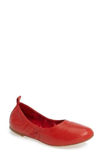 Women's 1.state Salen Ballet Flat M - Red