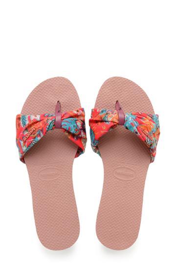 Women's Havaianas You Saint Tropez Sandal /42 Br - Pink