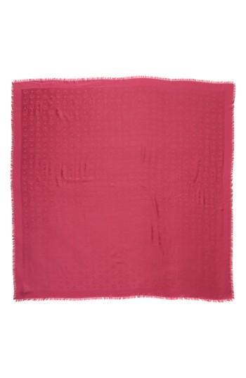 Women's Mcm Monogram Scarf, Size - Pink