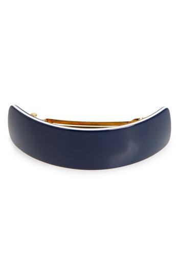 France Luxe Volume Barrette, Size - Blue