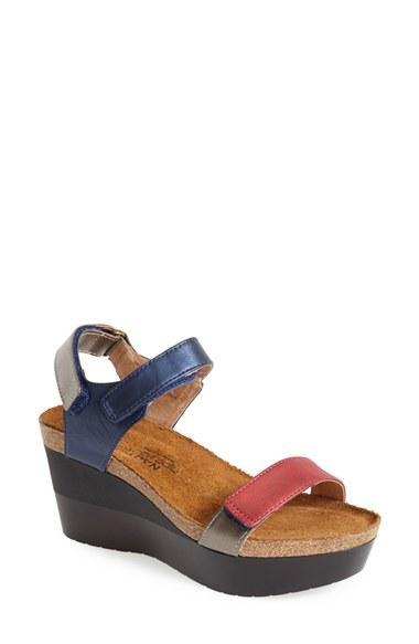Women's Naot 'miracle' Sandal Us / 38eu - Blue