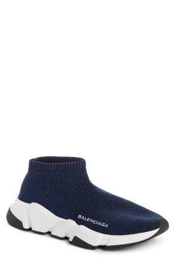 Women's Balenciaga Low Speed Sneaker Us / 37eu - Blue