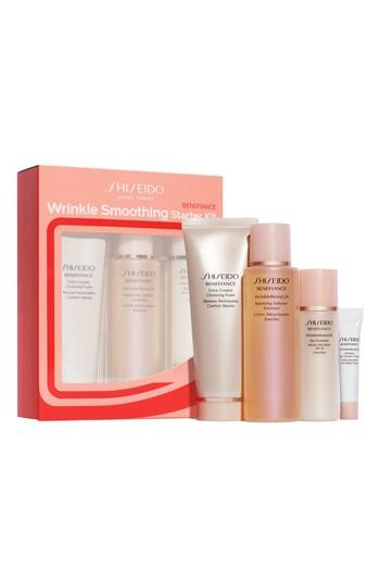 Shiseido Benefiance Wrinkle Smoothing Starter Set