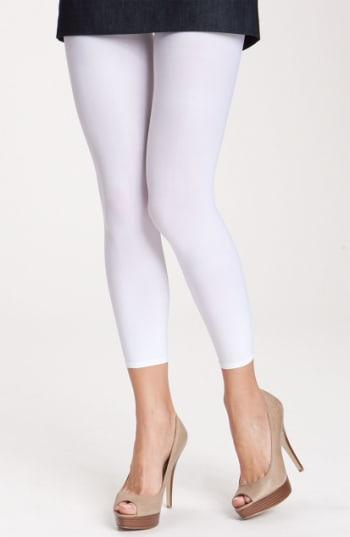 Women's Commando Matte Footless Tights - White