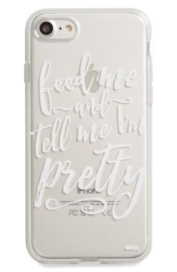 Milkyway Feed Me Iphone 7 Case - White