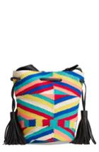 Rebecca Minkoff Wonderland Tassel Bucket Bag - Black