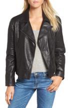 Women's Bb Dakota Harwick Leather Moto Jacket