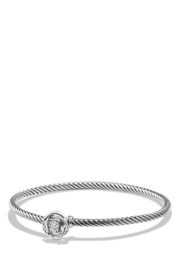 Women's David Yurman 'infinity' Bracelet With Diamonds