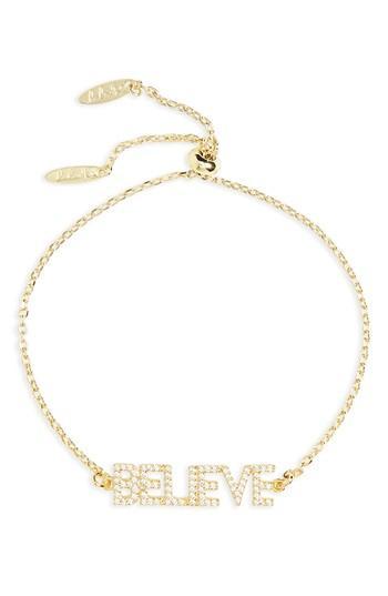 Women's Lulu Dk Believe Bracelet