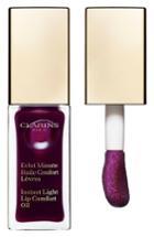 Clarins Instant Light Lip Comfort Oil - 08 Plum