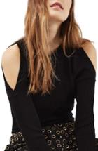 Women's Topshop Cold Shoulder Sweater