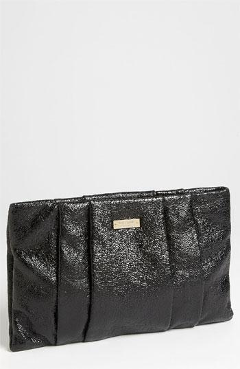 Kate Spade New York 'starlight Drive - April' Clutch Black