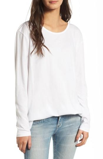 Women's Bp. Side Slit Tee - White