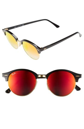 Men's Ray-ban 'clubround' 51mm Sunglasses