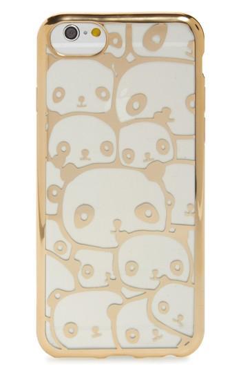 Ok Originals Transparent Panda Iphone 6/6s/7 Case - Metallic