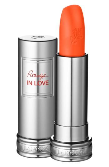 Lancome Rouge In Love Lipstick - Miss Coquelicot