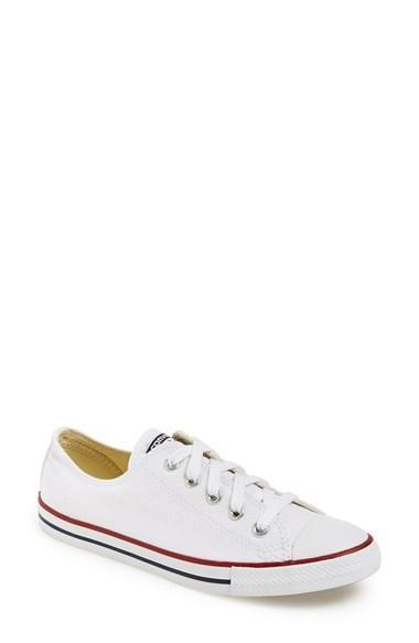 Women's Converse Chuck Taylor 'dainty' Sneaker White
