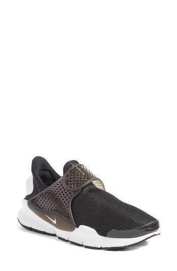 Women's Nike Sock Dart Breathe Sneaker M - Black