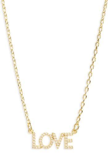 Women's Lulu Dk Love Necklace