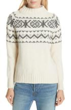 Women's & Daughter Fintra Colorblock Wool Tunic Sweater