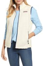 Women's Vineyard Vines Quilted Fleece Vest - White