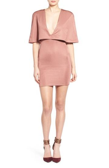 Women's Missguided Cape Popover Dress