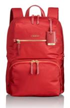 Tumi Voyageur Halle Nylon Backpack - Red