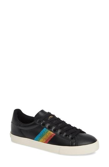 Women's Gola Orchid Rainbow Glitter Sneaker M - Black