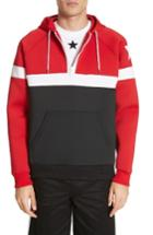 Men's Givenchy Colorblock Hoodie - Red
