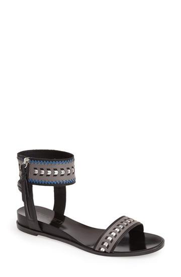 Women's Cynthia Vincent 'fayette' Leather Ankle Strap Sandal