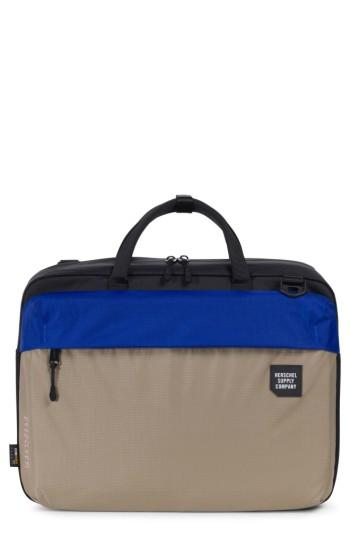 Men's Herschel Supply Co. Britannia Trail Collection Convertible Messenger Bag - Beige