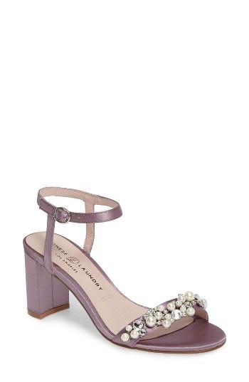 Women's Chinese Laundry Rosetta Embellished Sandal M - Purple