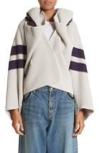Women's Undercover Hooded Knit Jacket - Grey