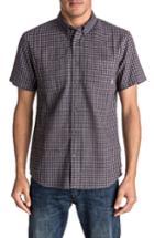 Men's Quiksilver Forte Night Check Shirt - Grey