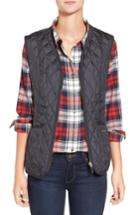 Women's Barbour 'beadnell' Quilted Liner Us / 12 Uk - Blue