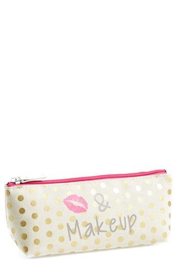 Bamko 'kiss & Makeup' Pencil Case