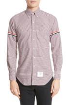 Men's Thom Browne Check Oxford Shirt