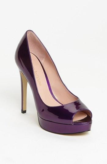 Enzo Angiolini 'atina' Pump (nordstrom Exclusive) Dark Purple Patent