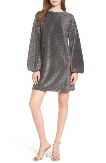 Women's Leith Metallic Shift Dress
