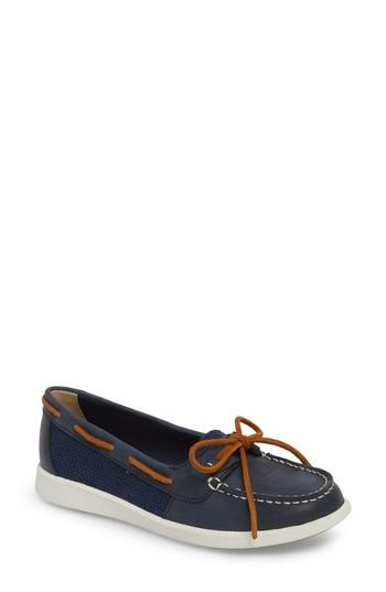 Women's Sperry Oasis Boat Shoe .5 M - Blue
