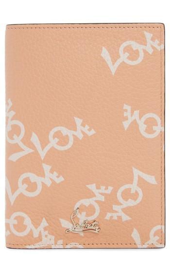 Christian Louboutin Loubipass Crazy Love Passport - Brown